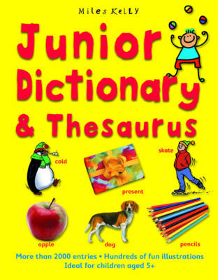 Junior Dictionary and Thesaurus by Cindy Leaney, Susan Purcell