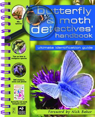 Butterfly and Moth Detective Handbook by Camilla De la Bedoyere