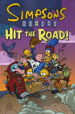 Simpsons Comics Hit the Road by Matt Groening