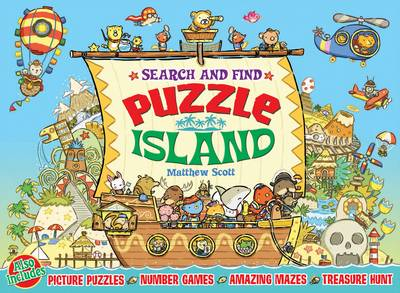 Puzzle Island Search and Find by Matthew Scott