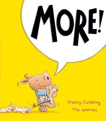 More! by Tracey Corderoy