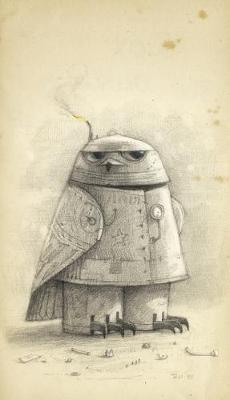 Shaun Tan Notebook - Snow Owl (Grey) by Shaun Tan