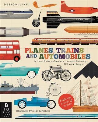 Planes, Trains & Automobiles Design Line by Chris Oxlade
