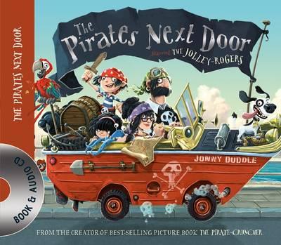 The Pirates Next Door Book & CD by Jonny Duddle
