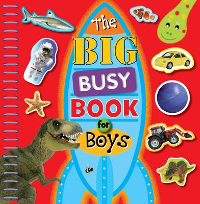The Big Busy Book for Boys by Chris Scollen