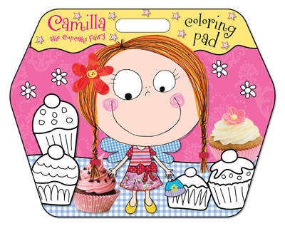 Camilla the Cupcake Fairy Colouring Pad by Chris Scollen, Karen Morrison