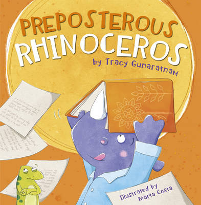 Preposterous Rhinoceros by Tracy Gunaratnam