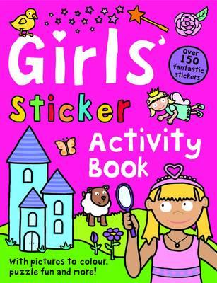 Girls' Sticker Activity Book by Roger Priddy