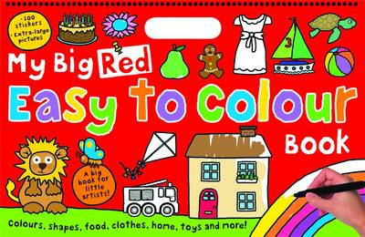 My Big Red Easy to Colour Book by Roger Priddy