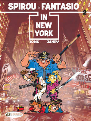 Spirou & Fantasio Spirou and Fantasio in New York by Tome