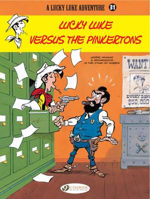 Lucky Luke Versus the Pinkertons by Daniel Pennac, Tonino Benacquista