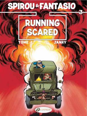 Spirou & Fantasio Running Scared by Tome