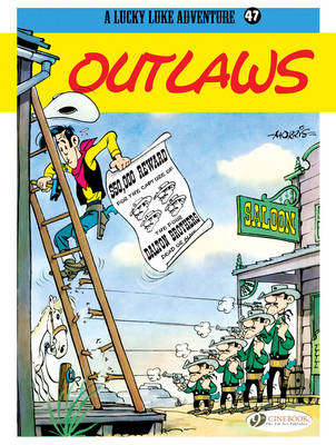 Lucky Luke Outlaws by Morris