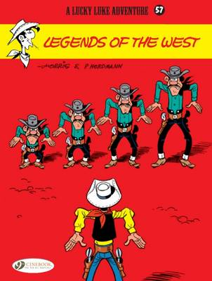 Lucky Luke Legends of the West by Patrick Nordmann