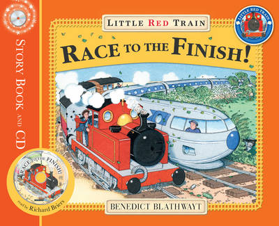 Little Red Train's Race to the Finish by Benedict Blathwayt