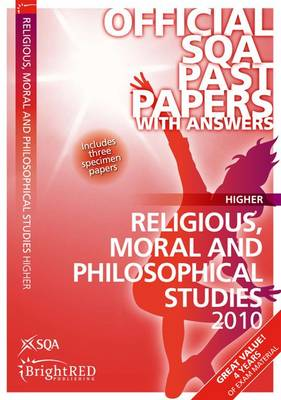 Religious, Moral & Philosophical Studies Higher SQA Past Papers by SQA