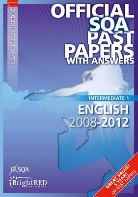 English Intermediate 1 SQA Past Papers by SQA
