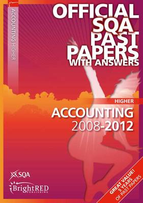 Accounting Higher SQA Past Papers by SQA