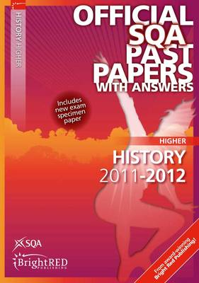 History Higher SQA Past Papers by SQA