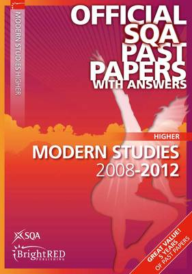Modern Studies Higher SQA Past Papers by SQA