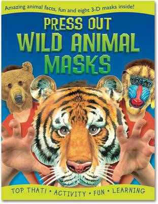 Press Out Wild Animal Masks by Nat Lambert