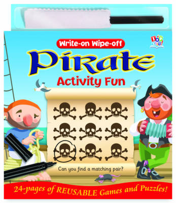 Write-on Wipe-off Pirate Activity Fun by Nat Lambert