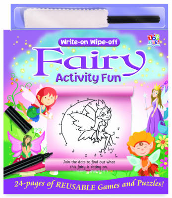 Write-on Wipe-off Fairy Activity Fun by Nat Lambert