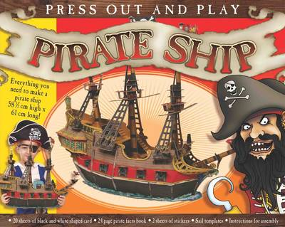 Press Out and Play Pirate Ship by Kate Thomson