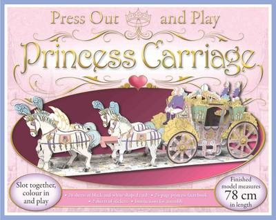 Press Out and Play Princess Carriage by Rose Williamson