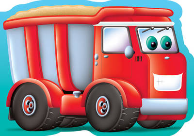 Dumper Truck Chunky Big Vehicles by Kay Massey