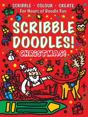 Christmas Scribble Doodles by