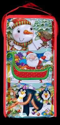 CHUNKIES Christmas Bag Three CHUNKIE Board Books in a Bag with Handle by