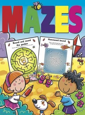 Mazes Colouring, Activites, Mazes by Gemma Cooper