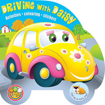 Driving with Daisy Activities, Colouring, Stickers by Maria Constant