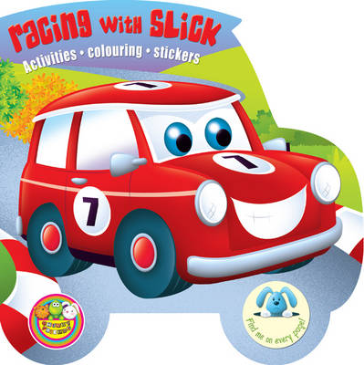 Chunky Friends Racing with Slick by Maria Constant