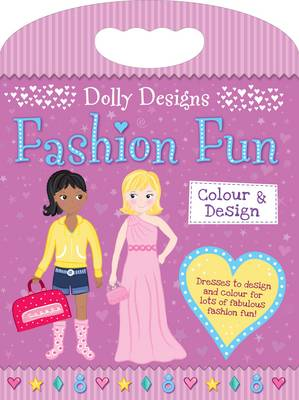 Dolly Designs Fashion Fun Colouring & Activity by Gemma Cooper