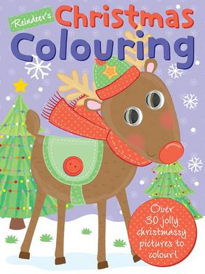 Reindeer's Christmas Colouring Colour, Christmas by Gemma Cooper