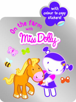 On the Farm with Colour to Copy, Stickers, Shaped Book by Gemma Cooper
