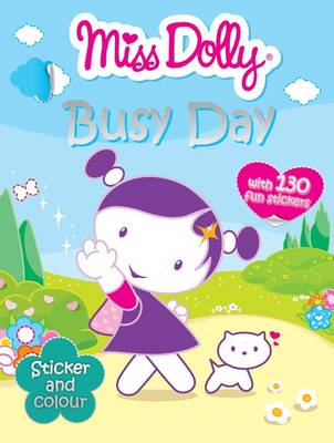 Busy Day Colour, Stickers by Gemma Cooper