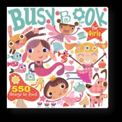 Busy Book For Girls by Holly Brook-Piper