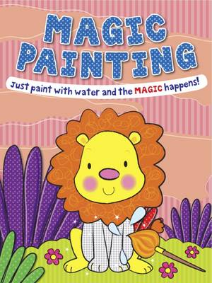 Magic Painting Lion Just Paint with Water and the Magic Happens! by Gemma Cooper