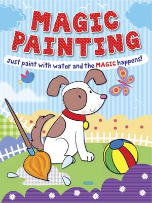 Magic Painting Puppy Just Paint with Water and the Magic Happens! by Gemma Cooper