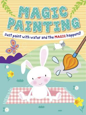 Magic Painting Bunny Just Paint with Water and the Magic Happens! by Gemma Cooper