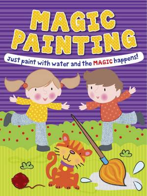 Magic Painting Boy & Girl Just Paint with Water and the Magic Happens! by Gemma Cooper