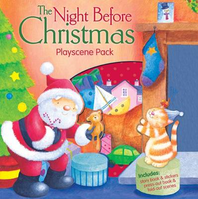 The Night Before Christmas Playscene Pack by Clement Clarke Moore
