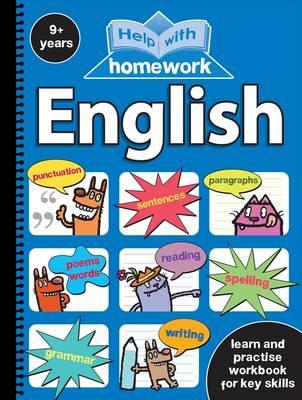 Help with Homework 9+ English Spiral by Nina Filipek