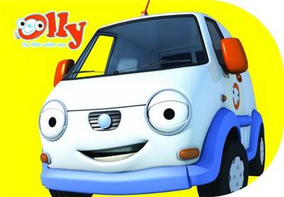 Olly the Little White Van Chunky Storybook by Ideas at Work