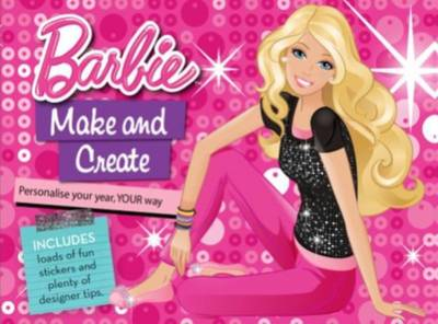 Barbie Make and Create Calendar by Mattel