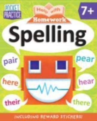 Help with Homework - Pocket Practice Spelling by Kay Massey