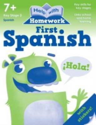 Help with Homework Workbook First Spanish by Nina Filipek, Kay Massey